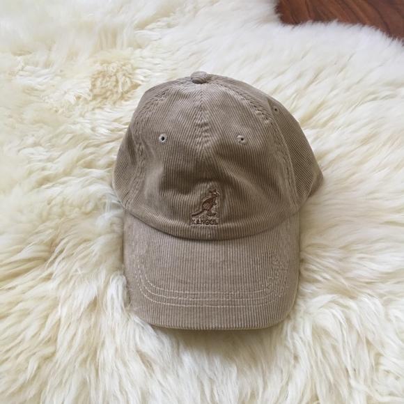 d81f70c0fac Kangol Logo Corduroy Strapback Dad Hat